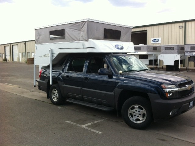Another Phoenix Pop Up Truck Camper For A Chevy Avalanche Phoenix